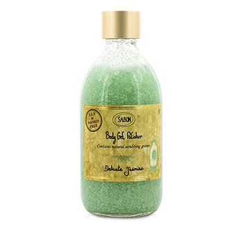 Sabon Body Gel Polisher - Delicate Jasmine  300ml/10oz