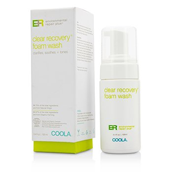 Coola Environmental Repair Plus Clear Recovery Limpiador Espuma  100ml/3.4oz
