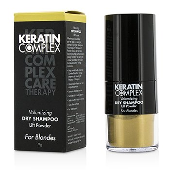 Keratin Complex Care Therapy Champú Seco Volumizante Lift Powder - # Rubios  9g/0.3oz