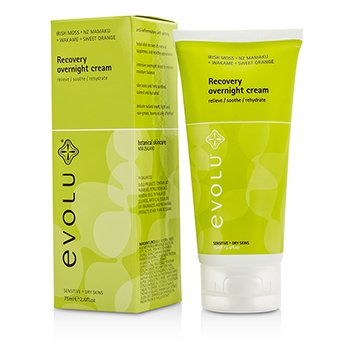 Evolu Recovery Overnight Cream (Sensitive & Dry Skin)  75ml/2.6oz