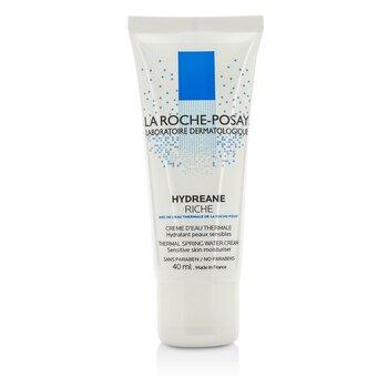 La Roche Posay Hydreane Thermal Spring Water Cream Sensitive Skin Moisturizer - Rich  40ml/1.35oz
