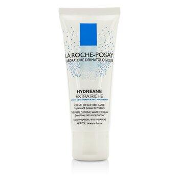 La Roche Posay Nawilżający krem do twarzy Hydreane Thermal Spring Water Cream Sensitive Skin Moisturizer - Extra Rich  40ml/1.35oz