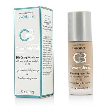 Exuviance CoverBlend Skin Caring Foundation SPF20 - # Neutral Beige  30ml/1oz