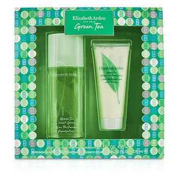 Elizabeth Arden Green Tea Coffret: Eau Parfumee Spray 100ml/3.3oz + losion za tijelo 100ml/3.3oz  2pcs