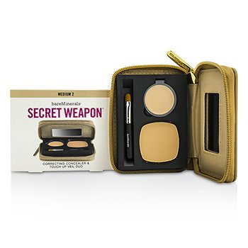 BareMinerals Secret Weapon  Duo Corrector & Velo Retoque - # Medium 2 + Medium  4.7g/0.22oz
