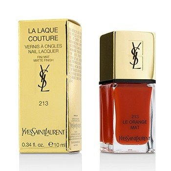 Yves Saint Laurent La Laque Couture Esmalte Uñas The Mats - # 213 Le Orange Mat  10ml/0.34oz