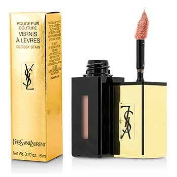 Yves Saint Laurent Rouge Pur Couture Vernis a Levres Color Brillo(Edici�n Limitada) - # 370 Le Nu  6ml/0.2oz
