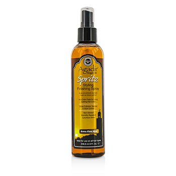 Agadir Argan Oil Spritz Styling Finishing Spray - Extra Firm Hold  236.6ml/8oz