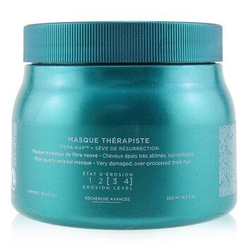 Kerastase Resistance Bain Therapiste Balzam Şampun Lif Yeniləyici Maska (Çox Zədəli, Qulluqedilmiş Saç Üçün)  500ml/16.9oz