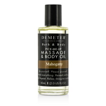 Demeter Mahogany Massage & Body Oil  60ml/2oz