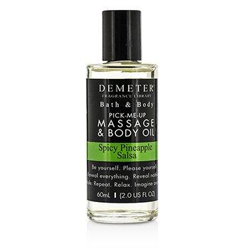 Demeter Spicy Pineapple Salsa Massage & Body Oil  60ml/2oz