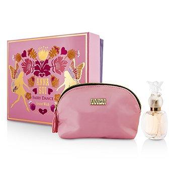 Anna Sui Secret Wish Fairy Dance Coffret: toaletna voda u spreju 30ml/1oz + kozmetička torbica  1pc+1pouch