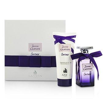 Lanvin Jeanne Lanvin Couture Coffret: Eau De Parfum Spray 50ml/1.7oz + Loción Corporal 100ml/3.3oz  2pcs