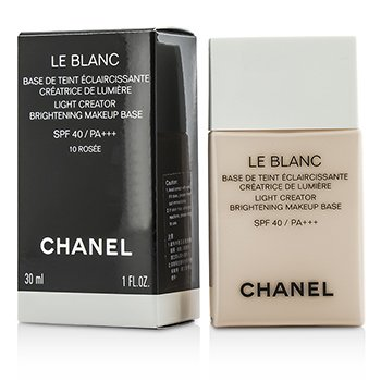 Chanel Le Blanc Light Creator Brightening Makeup Base SPF40 - #10 Rosee  30ml/1oz