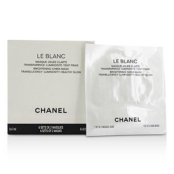 Chanel Le Blanc Brightening Cheek Mascarilla  6x7ml/0.23oz