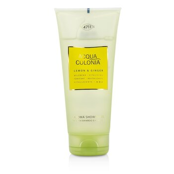 4711 Acqua Colonia Aroma Limón  & Jengibre Gel de Ducha  200ml/6.8oz