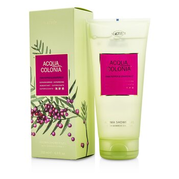 4711 Żel pod prysznic Acqua Colonia Pink Pepper & Grapefruit Aroma Shower Gel  200ml/6.8oz