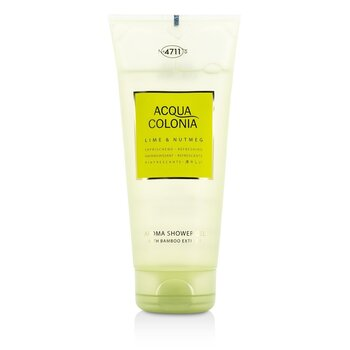 4711 Acqua Colonia Lime & Nutmeg Gel de Duș Aromat   200ml/6.8oz