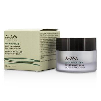 Ahava Beauty Before Age Uplift Crema Noche  50ml/1.7oz