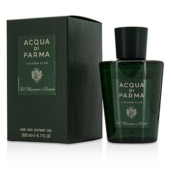 Acqua Di Parma Żel do kąpieli i pod prysznic Colonia Club Hair & Shower Gel  200ml/6.7oz