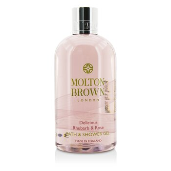 Molton Brown Żel pod prysznic i do kąpieli Delicious Rhubarb & Rose Bath & Shower Gel  300ml/10oz
