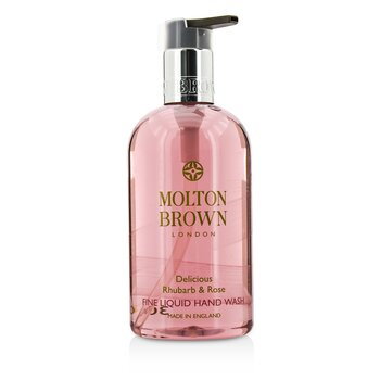 Molton Brown Delicious Rhubarb & Rose Fine Liquid Hand Wash  300ml/10oz