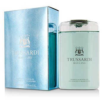 Trussardi Blue Land Șampon și Gel de Duș  200ml/6.7oz