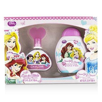 Air Val International Disney Princess Coffret: Eau De Toilette Spray 100ml/3.4oz + Gel de Ducha & Champ� 300ml/10.2oz  2pcs