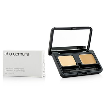 Shu Uemura Multi Concealer Palette - #7YR Light/ 7YR Dark  2x1.2g/0.04oz