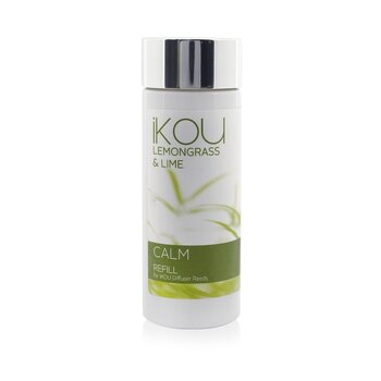 iKOU Diffuser Reeds Refill - Calm (Lemongrass & Lime)  125ml/4.22oz