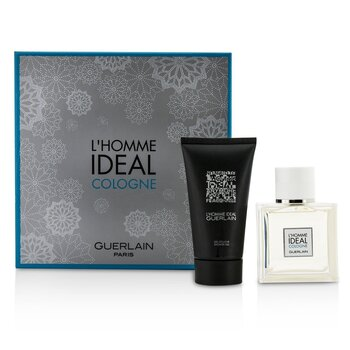 Guerlain L'Homme Ideal Cologne Coffret: Eau De Toilette Spray 50ml/1.6oz + Gel de Ducha 75ml/2.5oz  2pcs