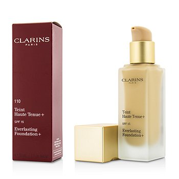Clarins Everlasting Base  SPF15 - # 110 Honey  30ml/1.1oz