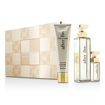 Elizabeth Arden 5th Avenue After Five Coffret: Eau De Parfum Spray 75ml/2.5oz + Loción Corporal 100ml/3.3oz + Eau De Parfum Spray 10ml/0.33oz  3pcs
