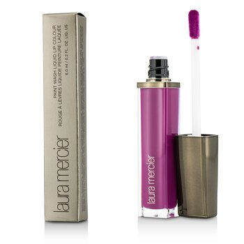 Laura Mercier Paint Wash Liquid Lip Colour - #Fuchsia Mauve  6ml/0.2oz