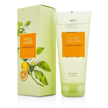 4711 Acqua Colonia Mandarine & Cardamom Gel de Duș Aromat   200ml/6.8oz