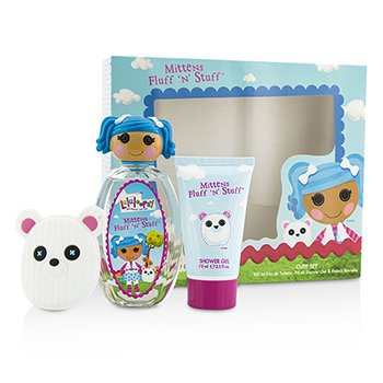 Lalaloopsy Mittens Fluff 'N' Stuff Cute Coffret: Eau De Toilette Spray 100ml/3.4oz + Shower Gel 75ml/2.5oz + French Barrette  3pcs