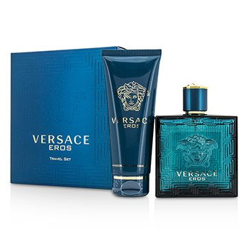 Versace Eros Coffret: Eau De Toilette Spray 100ml/3.4oz + Gel de Ducha 100ml/3.4oz  2pcs