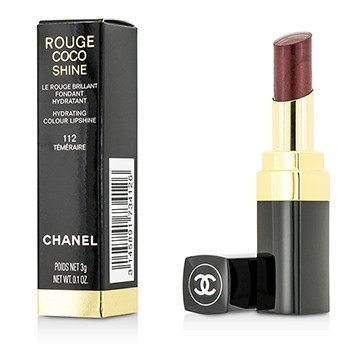 Chanel Pomadka do ust Rouge Coco Shine Hydrating Colour Lipshine - # 112 Temeraire 173412  3g/0.1oz