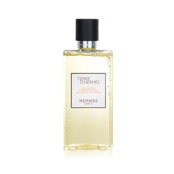 Hermes Terre D'Hermes Hair & Body Shower Gel  200ml/6.5oz