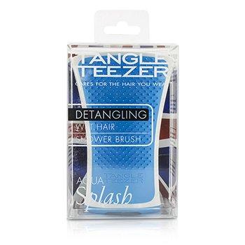 タングルティーザー アクアスプラッシュ デタングリング シャワーブラシ - #ブルーラグーン (ウェットヘア用)  1pc