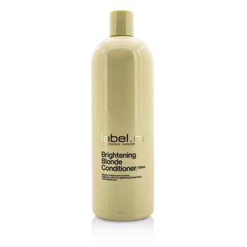 Label.M Odżywka do włosów Brightening Blonde Conditioner (Infuses Moisture and Nurtures, Brightens Colour For Glistening Blonde Tones)  1000ml/33.8oz