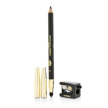 Sisley Phyto Khol Perfect Eyeliner (With Blender and Sharpener) - #1 Black  1.2g/0.04oz