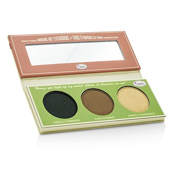 TheBalm Smoke Balm Smokey Eye Palette (3x Eyeshadow): Kindle/ Glow/ Combust  10.2g/0.36oz