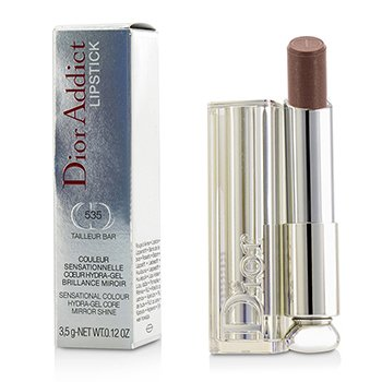 Christian Dior Dior Addict Hydra Gel Core Mirror Shine Color Labios - #535 Tailleur Bar  3.5g/0.12oz