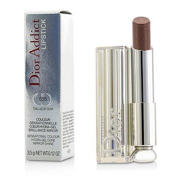 Christian Dior Dior Addict Hydra Gel Core Mirror Shine Lipstick - #535 Tailleur Bar  3.5g/0.12oz