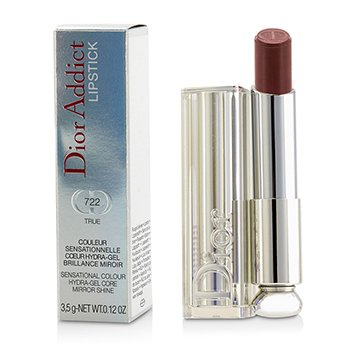 Christian Dior Dior Addict Hydra Gel Core Mirror Shine Lipstick - #722 True  3.5g/0.12oz
