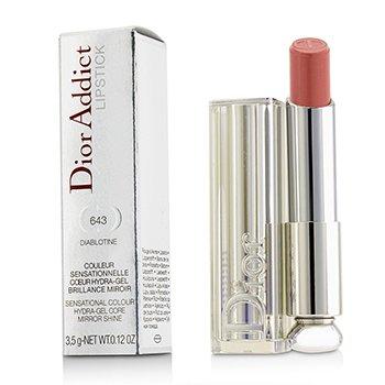 Christian Dior Dior Addict Hydra Gel Core Сияющая Губная Помада - #643 Diablotine  3.5g/0.12oz