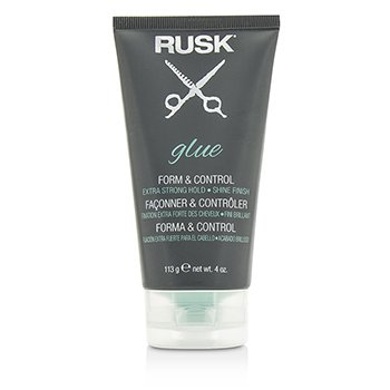 Rusk Glue Form & Control (Extra Strong Hold, Shine Finish)  113g/4oz