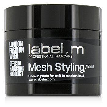标签M  Mesh Styling (Fibrous Paste For Soft to Medium Hold)  50ml/1.7oz