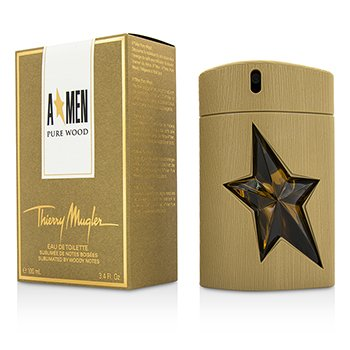 Thierry Mugler (Mugler) A*Men Pure Wood Eau De Toilette Spray  100ml/3.4oz